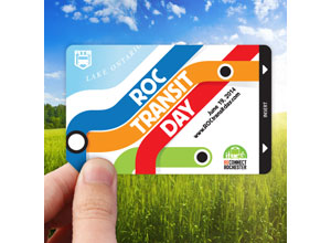 Get a ROC Transit Day pass, good for free RTS bus rides all day June 21.